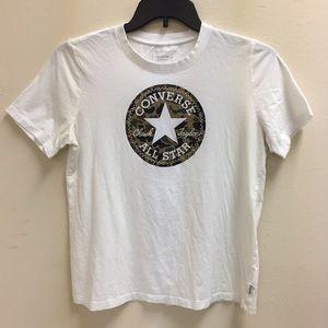 Camp print Converse shirt